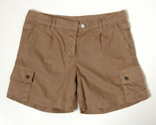 J. Crew Classic Twill Chino Shorts City Fit Tan Brown Khaki Cotton Womens Size 6