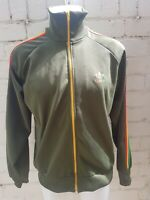 Adidas Originals Track Top Size L Reggae Rasta Jamaica Short Men's Green Jacket
