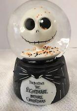 Nightmare Before Christmas MUSICAL SNOWGLOBE JACK SKELLINGTON 25th Anniversary