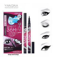 Yanqina Black 36H Waterproof Pen Precision Liquid Eyeliner Eye Liner Make Up