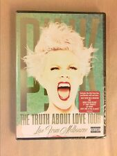 DVD CONCERT / PINK / THE THRUTH ABOUT LOVE / LIVE FROM MELBOURNE / NEUF CELLO