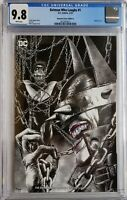 BATMAN WHO LAUGHS 1 CGC 9.8 VARIANT SUAYAN SKETCH DC COMICS 1ST APP GRIM KNIGHT