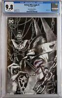 BATMAN WHO LAUGHS 1 CGC 9.8 VARIANT SUAYAN SKETCH DC COMICS 1ST APP GRIM KNIGHT