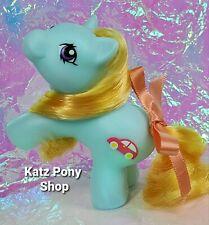 HQG1C Custom G1 MLP Style Playful Baby Pony 💜 ZIPPER 💜 w Accessories! BLUE