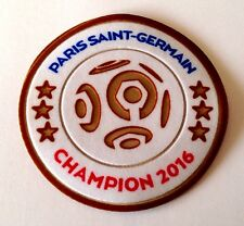 2016 PSG Paris LIGUE 1 CHAMPIONS Football Soccer Badge Patch