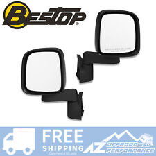 Bestop Replacement Mirrors - OEM Styling for 1987-2006 Jeep Wrangler YJ TJ LJ