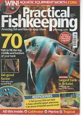 PRACTICAL FISHKEEPING MAGAZINE  ISSUE 3 MARCH 2014 LARGEST TANK IN BRITAIN    LS