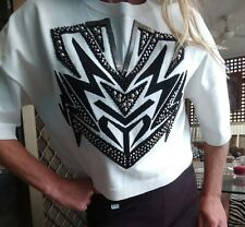 """Sass & Bide """"Tomorrows Party"""" Embellished Top Size XS (6-10)"""