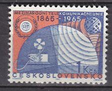CZECHOSLOVAKIA 1965**MNH SC# 1333 ITU Emblem and Communication Symbols