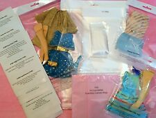 Vintage BARBIE Archival Quality Clothes DISPLAY BAGS 1968 Be Organized! Lot