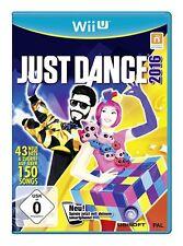 JUST DANCE 2016 Nintendo Wii U Wii U NUEVO + emb.orig