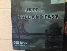 Don Byas Jazz Free and Easy Savoy 12202 LP