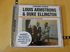 Louis Armstrong Duke Ellington - Complete - DVD Audio Classic Records 24/96 DAD