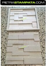 Stone veneer rubber mold for concrete or gypsum Polyurethane stone mold