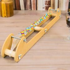 Long Bead Loom 600mm x 460mm Long Includes Patterns, Beads, Needles and Thread