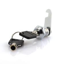 Universal Safe Tool Box Lock Chest Key Storage Truck Cylinder Cabinet Chrome New