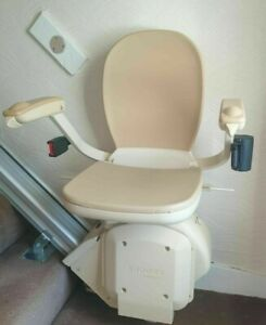 Brooks Straight Stairlift excellent condition full working order