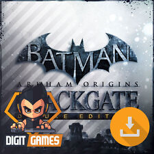 Batman Arkham Origins Blackgate - Steam / PC Game - New / Deluxe Edition