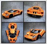 2017 Ford GT Speciale Special Edition Diecast Boxed 1:18 Model Car - Orange