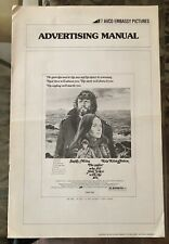 THE SAILOR WHO FELL FROM GRACE WITH THE SEA (1976) Miles,Kristofferson Pressbook