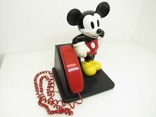 Minty Vintage AT&T Mickey Mouse Walt Disney Push Button Trimline Telephone