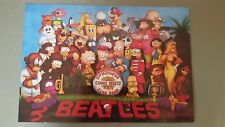 the simpsons poster beatles sgt. homer