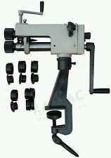 Swage Rotary Jenny machine bead roller sheet metal forming bench mounted