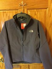Women's Northface Apex Soft Shell Jacket. Size Small. Greystone Blue. NWT