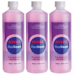 Sterex Steritane Skin Cleanser 500ml Multibuy Pack of 3