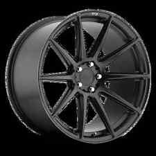 Niche Essen M147 18X8 5X112 +42 Black Matte Rims Fits Mercedes C300 C350 2008 Up
