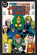 Justice League #1, DC, 1987, F-VF condition