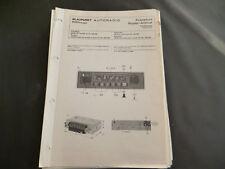 Original Service Manual Blaupunkt Autoradio Frankfurt Super Arimat