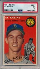 1954 Topps Al Kaline #201 PSA 5, Rookie Card, Detroit Tigers