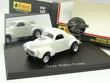 UH Universal Hobbies 1/43 - Ford Willys Coupe 1941 Blanche