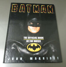 1989 Batman The Official Book Of The Movie Hc Reissue Vf