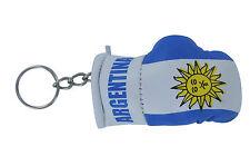 llaveros coche moto keychain key chain bandera guante de boxeo ARGENTINA