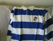8ac713871 ROYAL BLUE AND WHITE RUGBY SHIRT