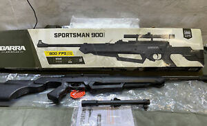 Barra Sportsman 900 BB Pellet Air Rifle 800 FPS With Scope New Box Damage Sale
