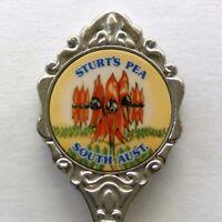 Sturt's Pea South Aust Souvenir Spoon Teaspoon (T122)
