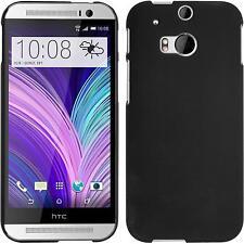 Funda Rígida HTC One M8 - goma negro Case