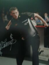 Sale Richie George Darts Hand Signed Photo Authentic + Coa - 12x8