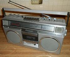 VINTAGE PANASONIC RX-5030 AM FM STEREO CASSETTE BLOCKBUSTER RADIO BOOMBOX WORKS