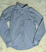 Columbia Omni-wick PFG Blue Size Small Woman's Vented Long Sleeve Shirt EUC