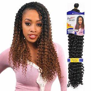 Freetress Bulk Long Curly Crochet Braid Hair Extension  WATER WAVE 22''  Braids