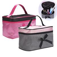 Women Handy Makeup Cosmetic Toiletry Bag Travel Handbag Organiser Storage Clutch