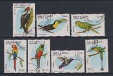 Nicaragua - 1981, Birds set - F/U - SG 2304/10