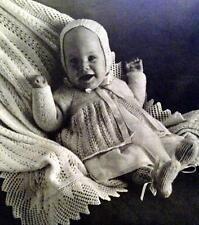 Patons Baby Styles Knitting & Crochet Patterns Layettes Bonnets Booties Shawls