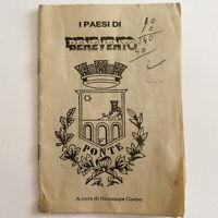 I Paesi di Benevento - Giuseppe Corbo - Città di Ponte - Opuscolo Vintage