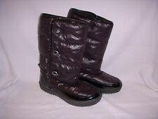 Coach Polina Winter Boots Waterproof Nylon Black 8B
