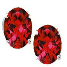 @@ Wholesale Genuine Ruby Oval Earrings With Certificate